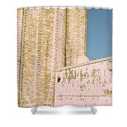 Midwestern Monarch Shower Curtain