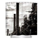 Mighty Bethlehem Steel Shower Curtain