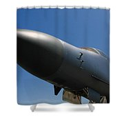 Mighty Bomber Shower Curtain
