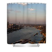 Mighty Mississippi Shower Curtain