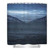 Mighty Walk Shower Curtain