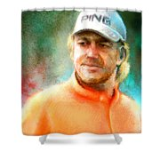 Miguel Angel Jimenez Shower Curtain