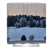 Mihari Fields  Shower Curtain