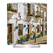 Mijas - Costa Del Sol   Spain Shower Curtain