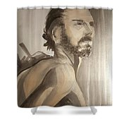 Mike  1 Shower Curtain