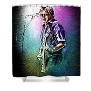 Mike Koch Shower Curtain