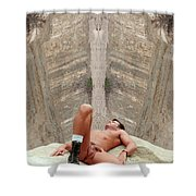 Mike L. 14-2 Shower Curtain