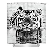 Big Mike  Shower Curtain