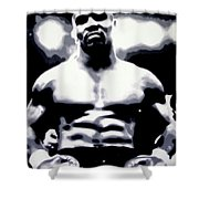 Mike Tyson Shower Curtain