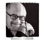 Mike Vax Professional Trumpet Player Photographic Print 3760.01 Shower Curtain