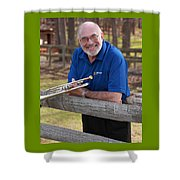 Mike Vax Professional Trumpet Player Photographic Print 3767.02 Shower Curtain