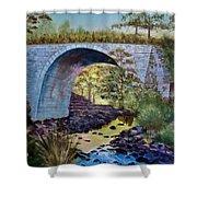 Mike's Keystone Bridge Shower Curtain