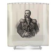 Mikhail Nikolaiavitch Shower Curtain