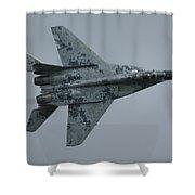 Mikoyan-gurevich Mig-29as  Shower Curtain by Tim Beach
