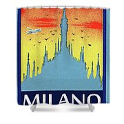 Milan Cathedral, Italy Shower Curtain