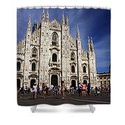 Milan Cathedral Shower Curtain by Milan Mirkovic