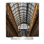 Milan Galleria 5 Shower Curtain
