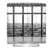 Milan Skyline Shower Curtain