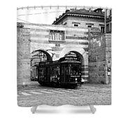 Milan Trolley 5b Shower Curtain