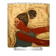 Mildred - Tile Shower Curtain