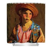 Mildred O Hat Shower Curtain