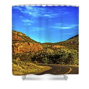 Mile 84 Shower Curtain