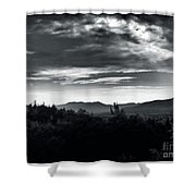 Miles And Miles Shower Curtain