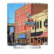 Miles City, Montana - Downtown Casino 2 Shower Curtain