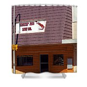 Miles City, Montana - Downtown Shower Curtain