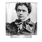 Mileva Maric (1875-1948) Shower Curtain