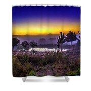 Milfontes Sunrise Shower Curtain