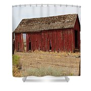 Milford Outbuilding 4 Shower Curtain
