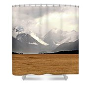 Milford Sound Mountains On South Island New Zealand Shower Curtain