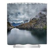 Milford Sound Shower Curtain