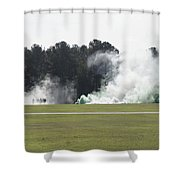 Military Celebrations  Shower Curtain