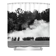 Military Personnel  Shower Curtain