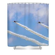Military Planes Shower Curtain