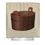Milk Tub Shower Curtain