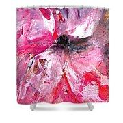 Milkwood Pinwheel Abstract Shower Curtain