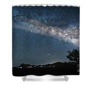 Milky Way 1 Shower Curtain