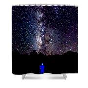 Milky Way 9962 Shower Curtain