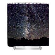Milky Way 9977 Shower Curtain