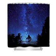 Milky Way Shower Curtain