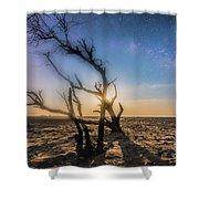 Milky Way Dream Shower Curtain