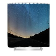 Milky Way Geres 5 Shower Curtain