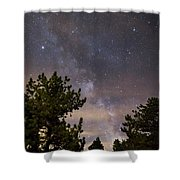 Milky Way I Shower Curtain