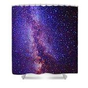 Milky Way Splendor Vertical Take Shower Curtain