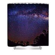 Milky Way Splendor Shower Curtain