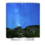 Milky Way Vi Shower Curtain