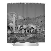 Mill And Stacks Shower Curtain